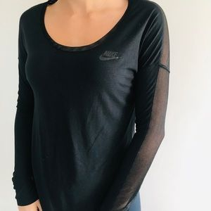 Nike sheer women's long sleeve